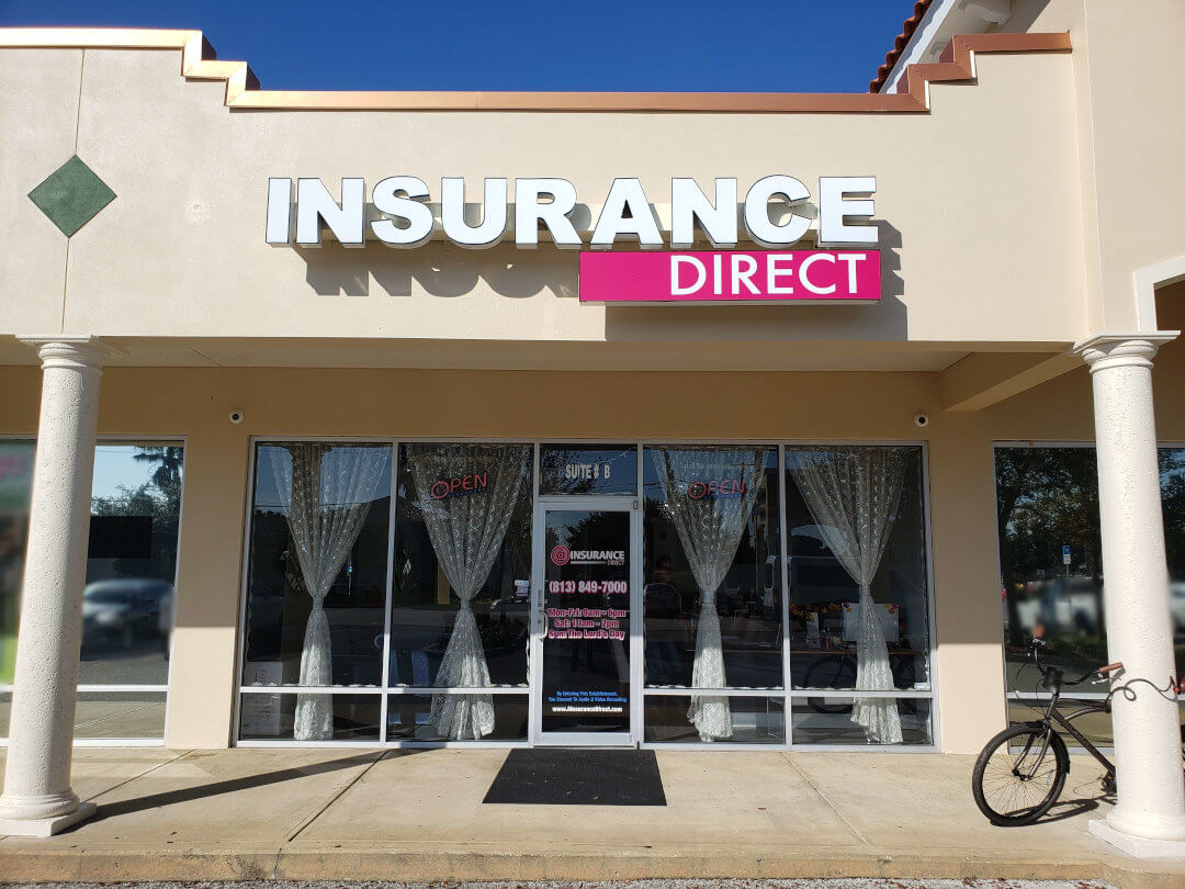 Insurance Direct - Tampa office front