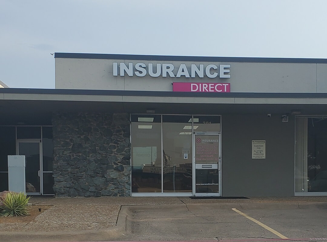 Insurance Direct - Dallas, TX office front